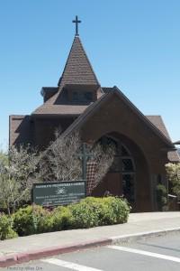 23 Church with Tartan, blue sky D7K_4047