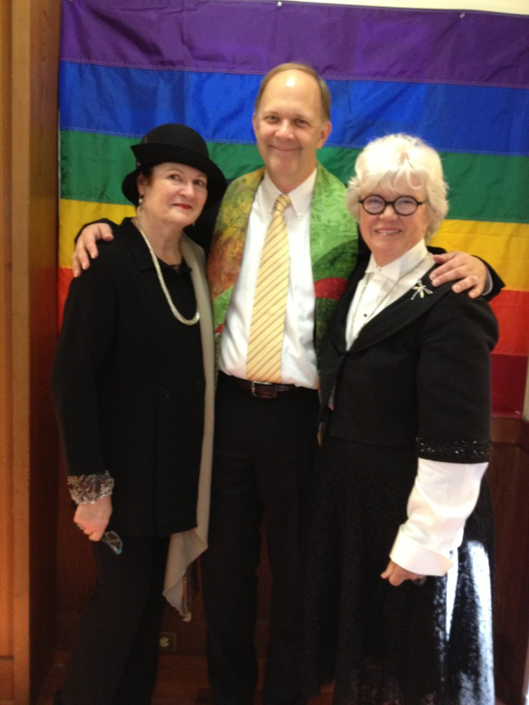 Shirley Paul and Sister Brian a