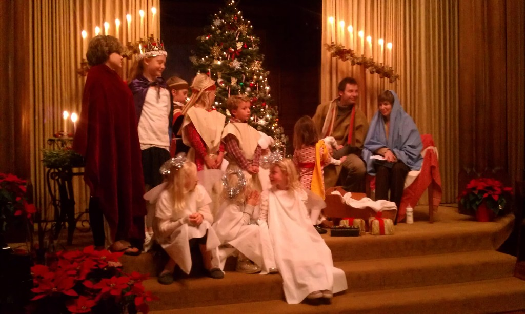 Kos, holy family Christmas Eve 2013 3