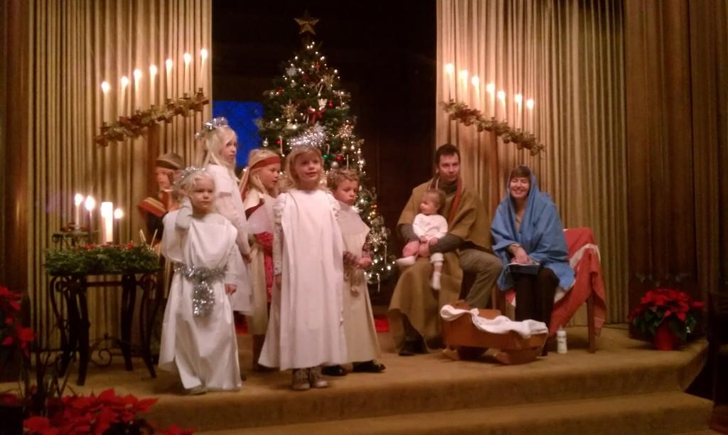 Kos, holy family Christmas Eve 2013 5