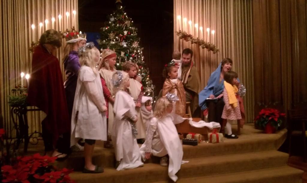 Kos, holy family Christmas Eve 2013 7