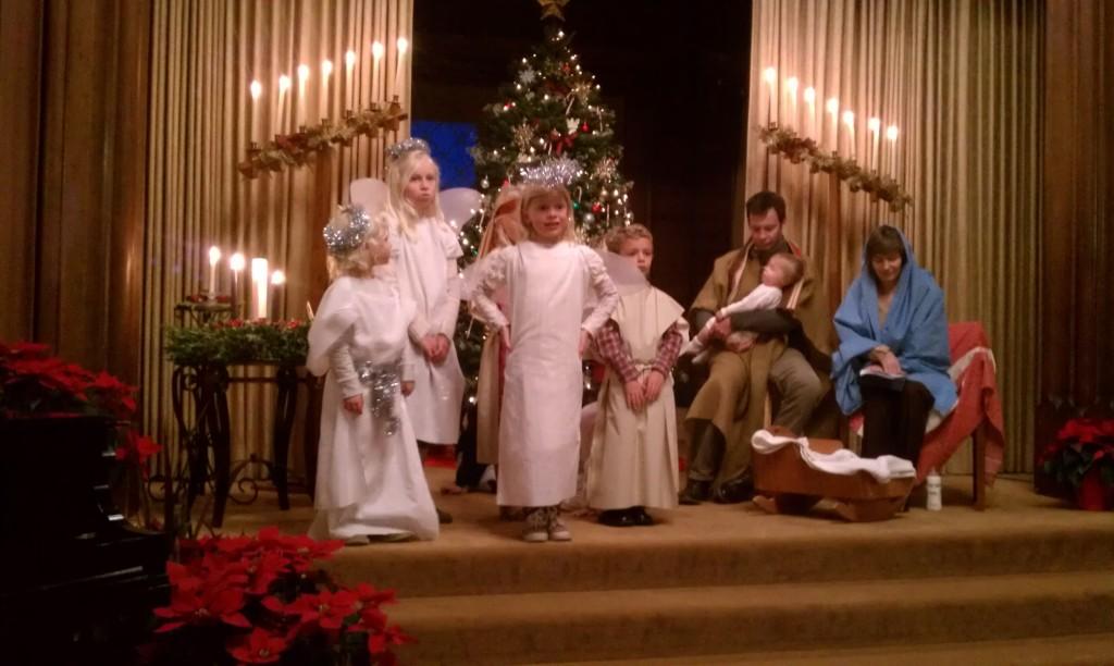 Kos, holy family Christmas Eve 2013 9