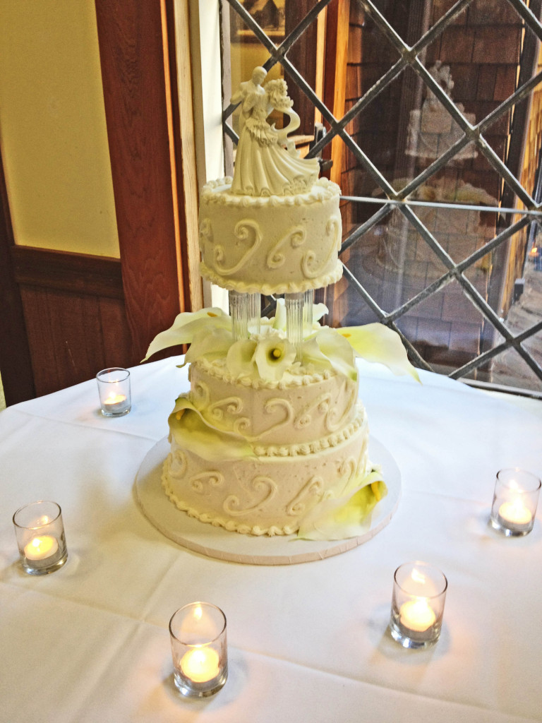 Reception Wedding Cake