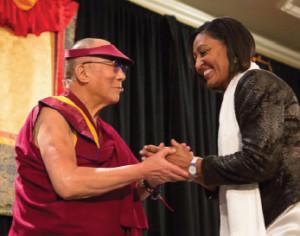 Dalai Lama and Lilly