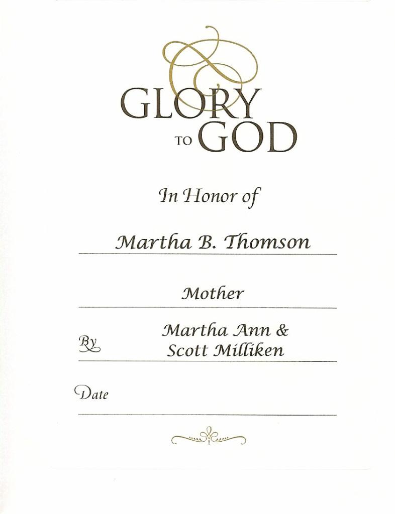 Martha Mother Martha Ann and Scott