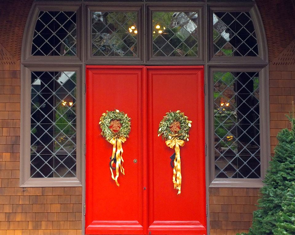 Red Doors for Christmas 2014