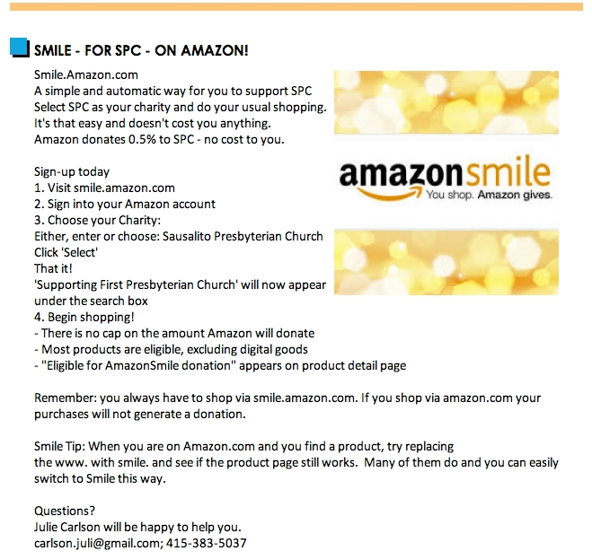 Smile for Amazon