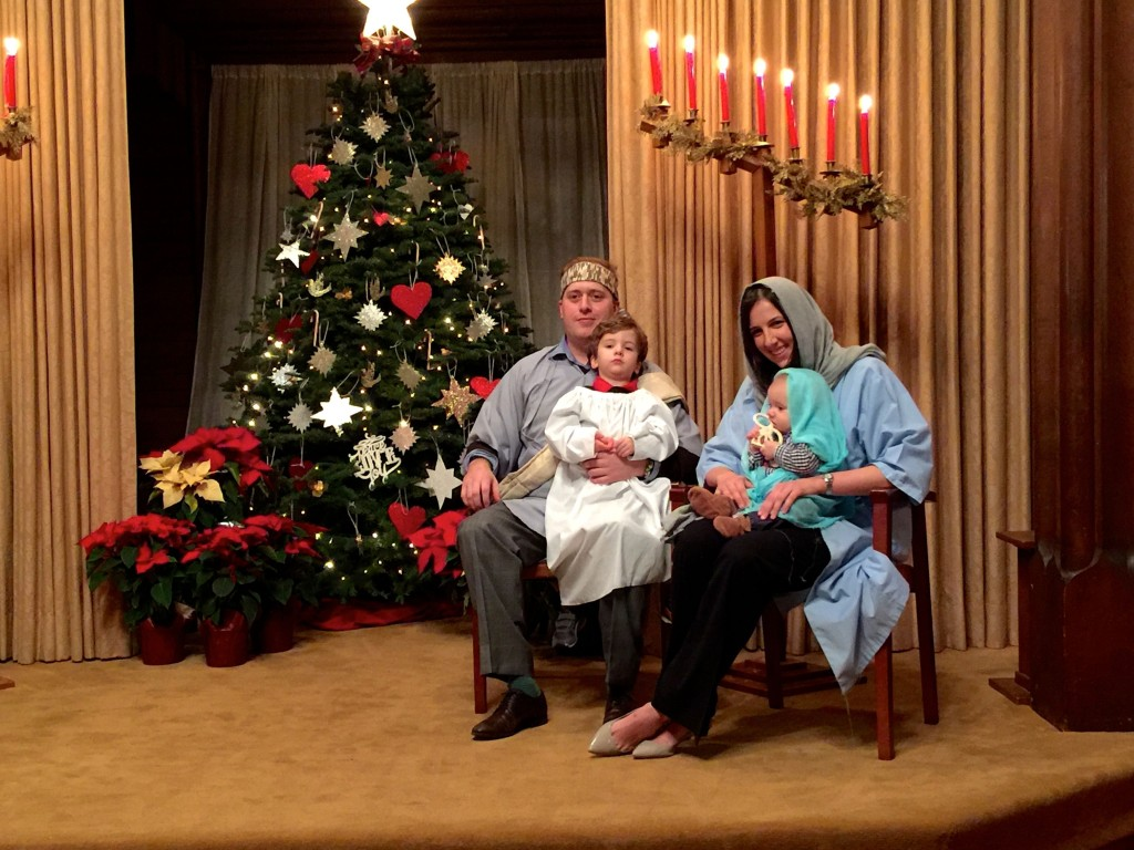 Christmas Family Service 2015 5
