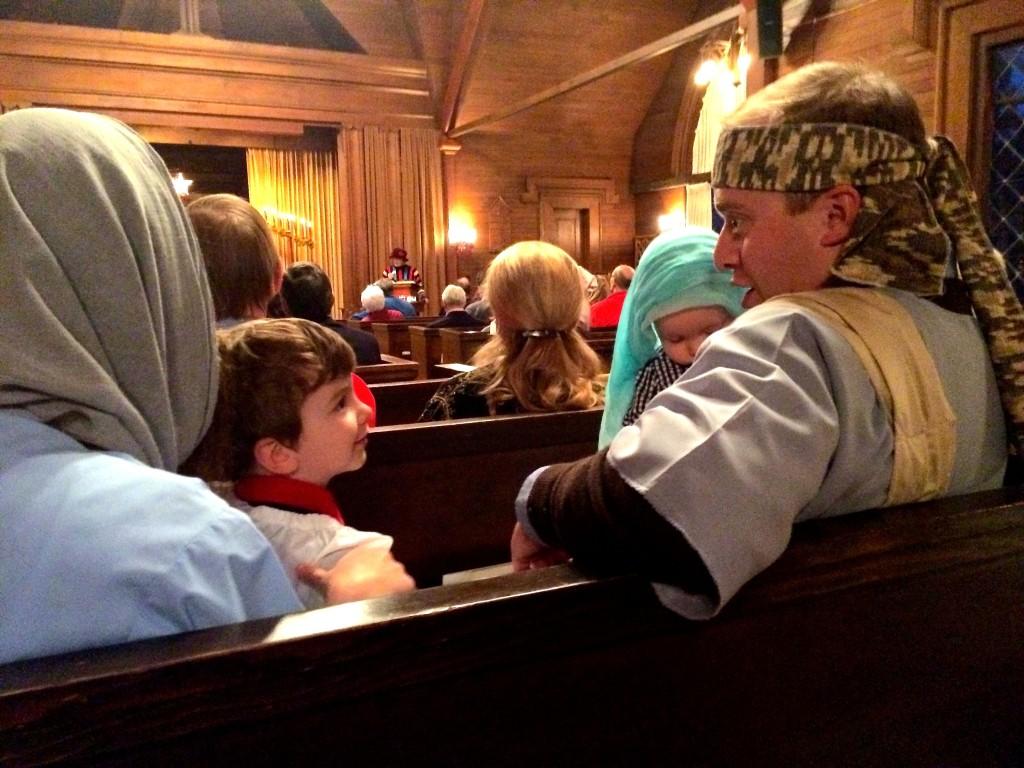 Christmas Family Service 2015 Janice 8