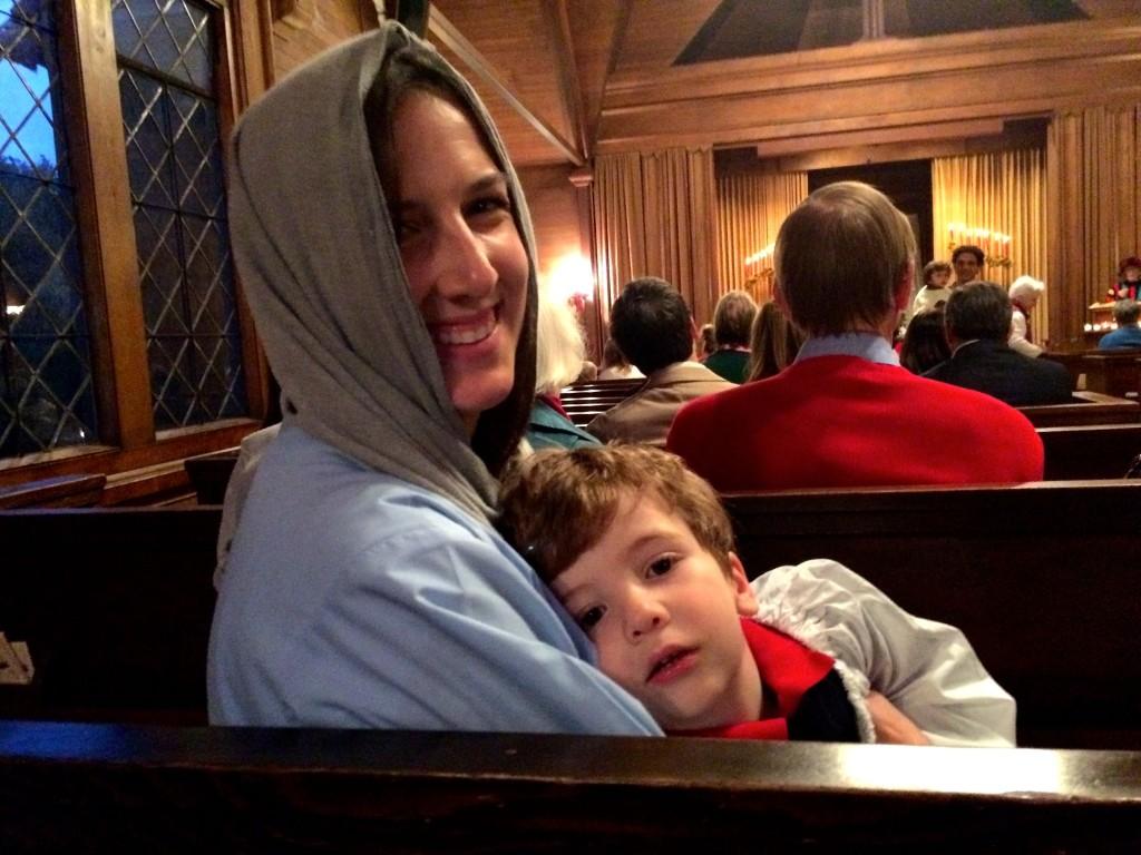 Christmas Family Service 2015 Janice 9