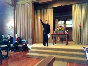 Keenan Kelsey acting reading in service