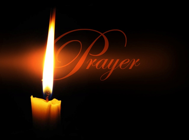 Prayer, candle
