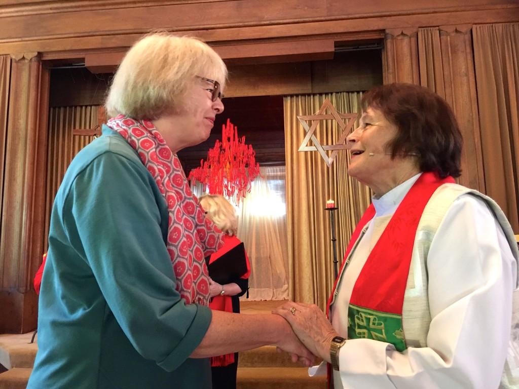Pentecost Joan Sharing
