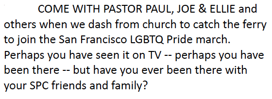 Come with Paul to Pride SnagIt