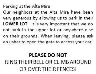 Alta-Mira parking
