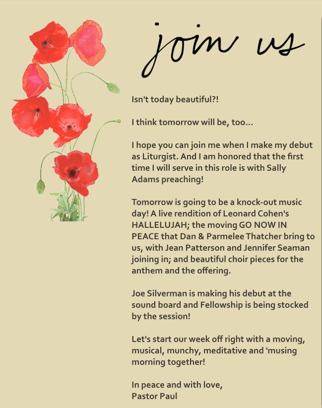 join us April 30 invitation