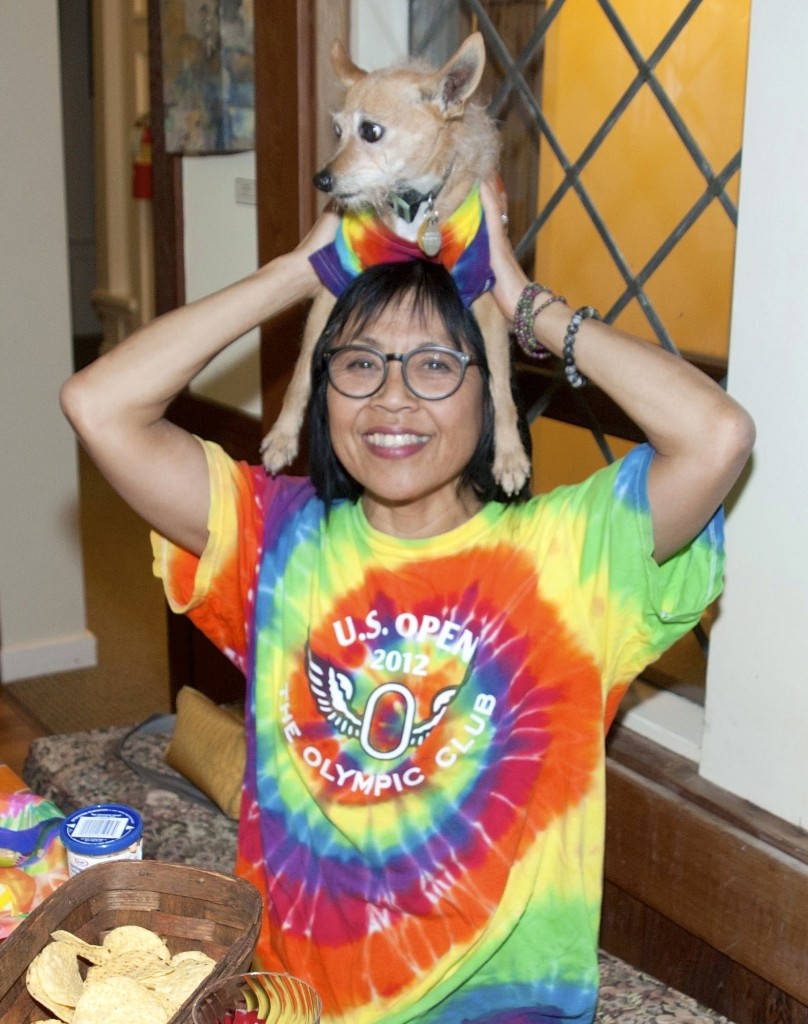 Patti and puppy Smr Lv - 57