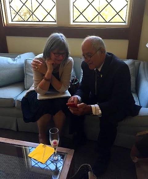 Julie and Alan