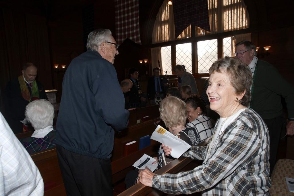 Nancy congregation Kirking - 37