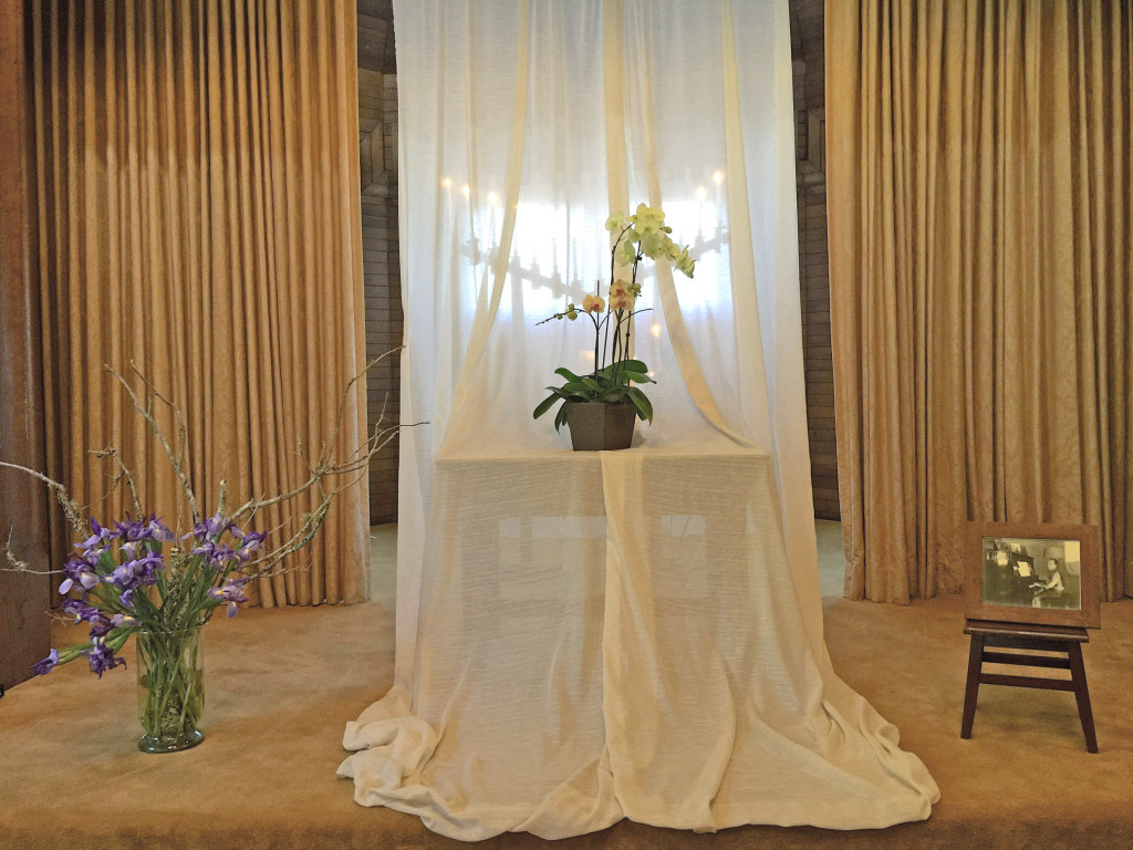 The curtain with candles behind IMG_2936