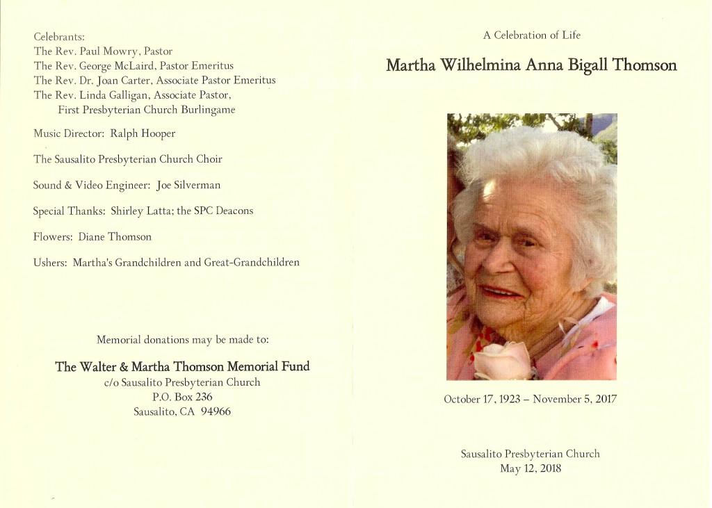 Martha program 2